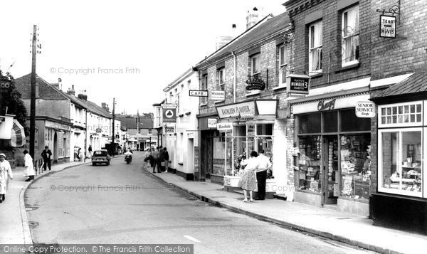Braunton, Caen Street 1962