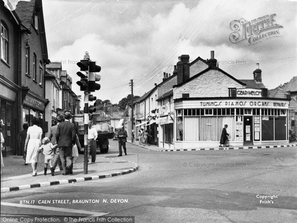 Braunton, Caen Street c.1950