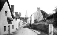 Braunton, Church Street 1900