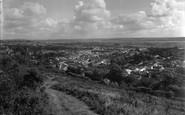 Braunton, From The Beacon 1937