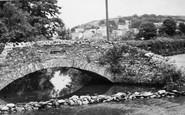 Braunton, Gates Bridge And East Hill c.1955