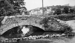 Gates Bridge And East Hill c.1955, Braunton