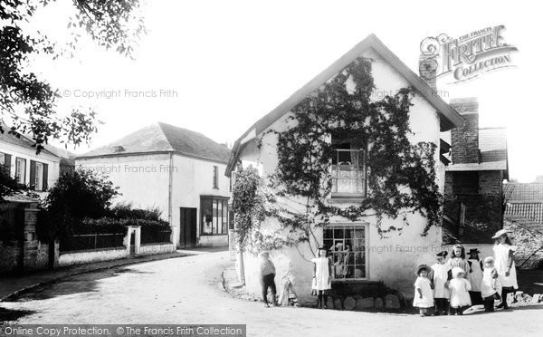 Braunton, Old House, Church Street 1900