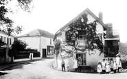 Braunton, Old House Church Street 1900