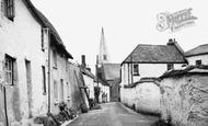 Braunton, Silver Street c1950