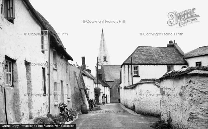 Photo of Braunton, Silver Street c1950