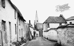 Silver Street c.1950, Braunton