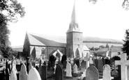 Braunton, St Brannock's Church 1900
