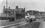 Braunton, The George Hotel c1955
