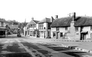 Braunton, the Square c1950
