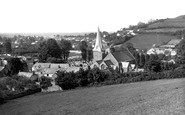 Braunton, Village And St Brannock's Church 1936