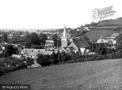 Village And St Brannock's Church 1936, Braunton