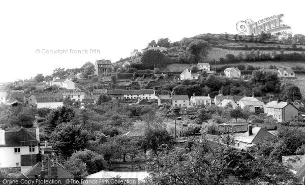 Braunton, West Hill c.1960