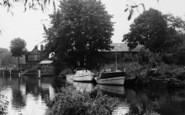 Bray, Boats Near The Lock c.1960
