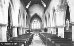 Bray, St Michael's Church Interior 1890