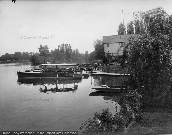 Bray, The River Thames 1929