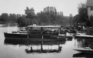 Bray, The River Thames, Boatyard 1929
