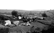 Brayford, from Charles Hill c1955
