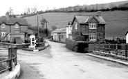 Brayford, the Post Office c1955