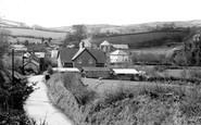 Brayford, the Village c1955