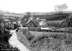 Brayford, The Village c.1955