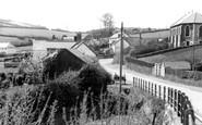 Brayford, Village from Bridge c1955