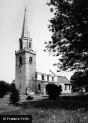 Brayton, St Wilfrid's Church c.1960