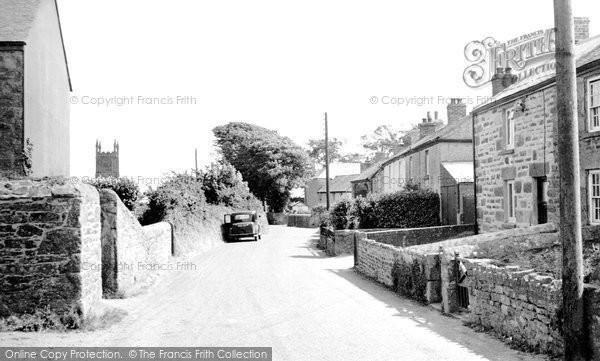 Breage, Pellor Road c.1955