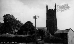 St Breaca Church c.1955, Breage