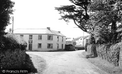 The Queens Arms c.1955, Breage