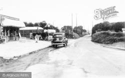 Brean, Church Road c.1965