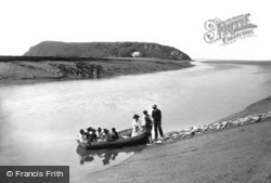 Brean Down, The Ferry 1918