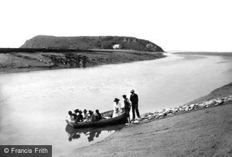 Brean Down, the Ferry 1918