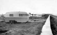 Brean, Ocean View Caravan Site c.1960
