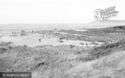Brean, Sand Dunes And Beach c.1960