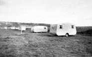 Brean, Sea View Caravan Site c.1960