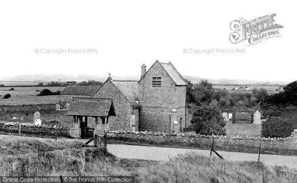 Brean, St Bridget Church c.1955