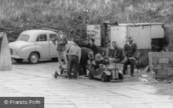 Brean, Sunnyholt Caravan Park, Go-Karting c.1965