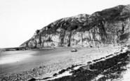 Brean, The Beach c.1955