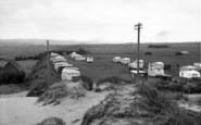Brean, The Caravan Camp c.1955