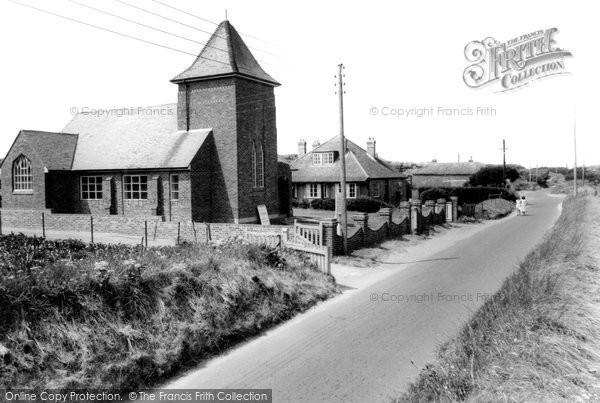 Brean, The Methodist Church c.1960