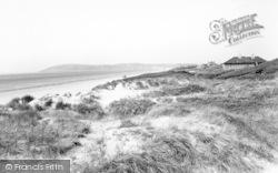 Brean, The Sand Dunes c.1960