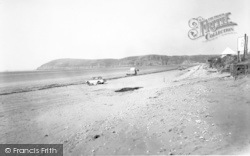 Brean, The Sands And Brean Down c.1960