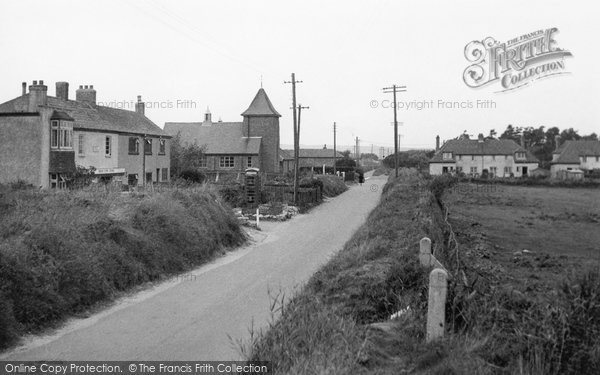 Brean, The Village c.1955
