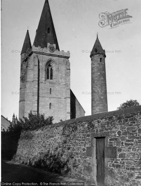 Brechin, Round Tower 1954