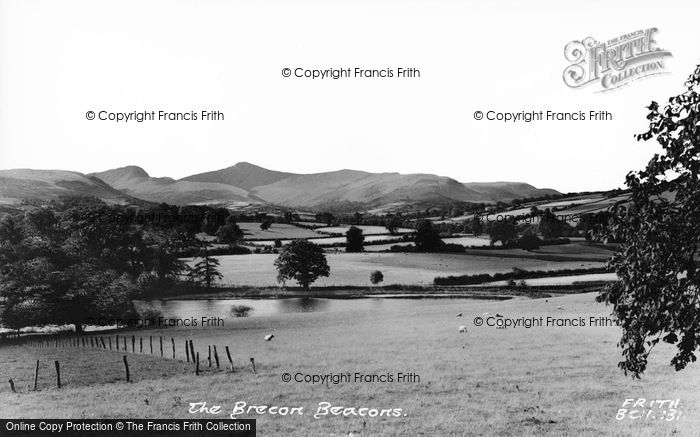 Photo of Brecon, Brecon Beacons c.1965