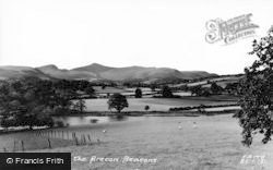 Brecon, Brecon Beacons c.1965