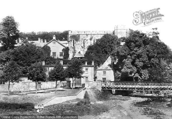 Brecon, Castle 1899