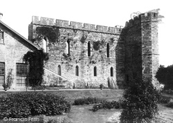 Brecon, Castle 1899