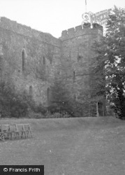 Brecon, Castle 1953